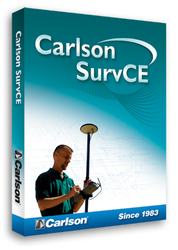Carlson SurvCE Data Collection Field Software